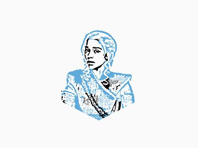 Bend the knee ui illustrator vector flat web illustration design