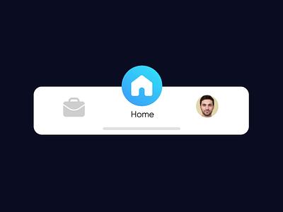 Experience Jobs - Tab Bar Interaction app animation select tabbar tap ui navigation bar navigation menu navigation microinteractions menu microinteraction interactiondesign interaction browse bar after effects animation after effects clean