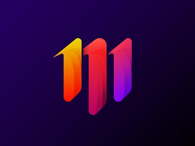 M - colorful M letter monogram logo design m letter colours colorful lettermark lettering logodesign letter logotype logo concept uiux product ux app graphic ui design minimal clean