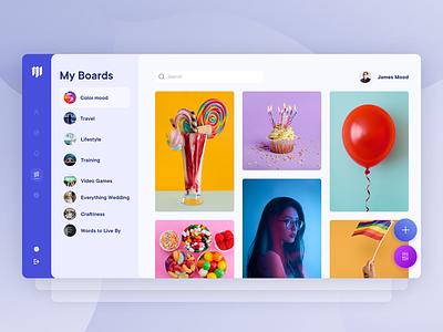 Moodboard - Dashboard and App app design concept dashboard design colorful dashboard app dashboard ui dashboad uiux product ux graphic app ui branding minimal design clean