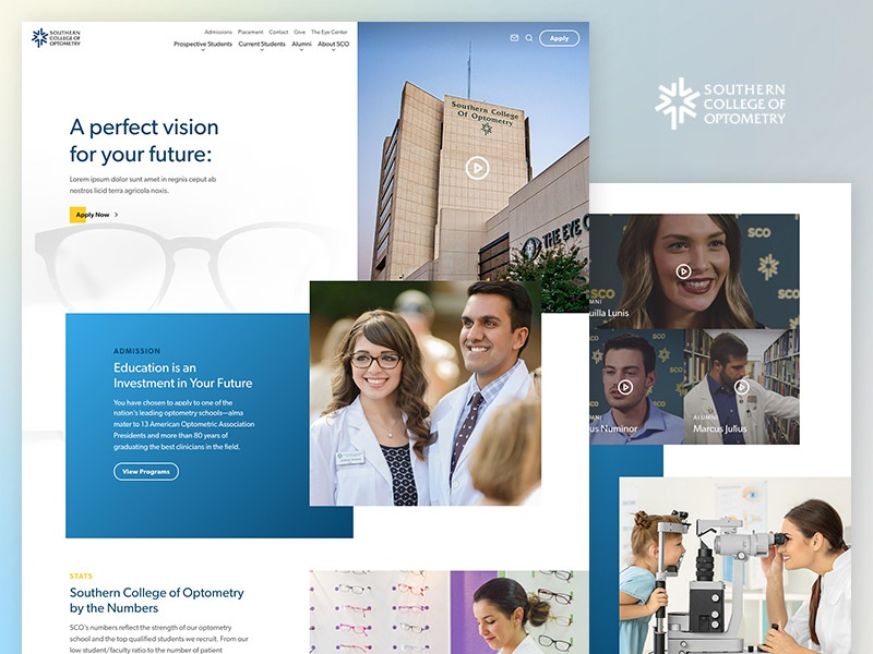 Southern College of Optometry by Carson Ford for Speak