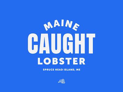 McLoons No. 3 maine branding restaurant lobster typography