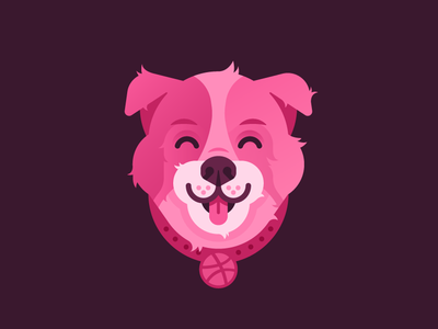 A Designer's Best Friend smile animal pet happy dog dribbble