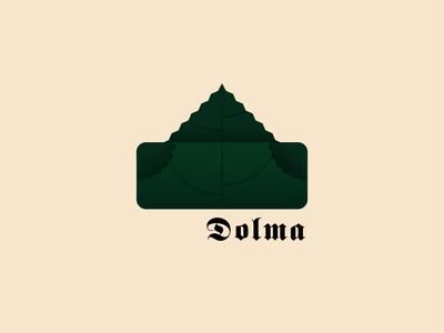 Dolma icon illustration design colors creative minimalistic illustrator