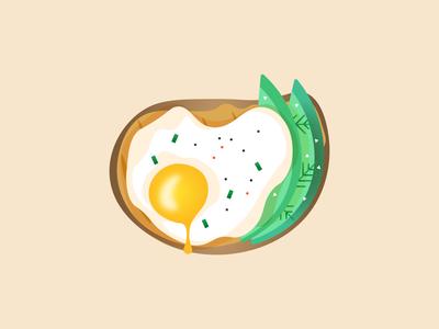 Breakfast breakfast food adobe illustrator graphicdesign creative illustrator illustration colors