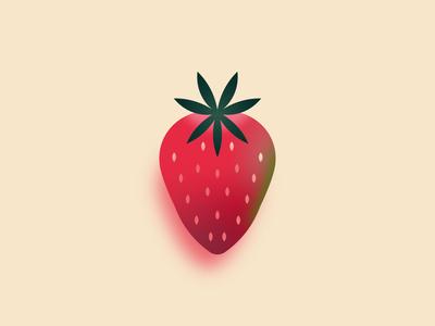 Strawberry strawberry colors food illustrator design illustration adobe illustrator creative