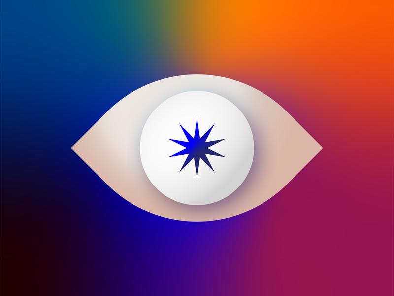 Illuminated mood colorpalette eye colors graphicdesign illustration adobe illustrator illustrator creative