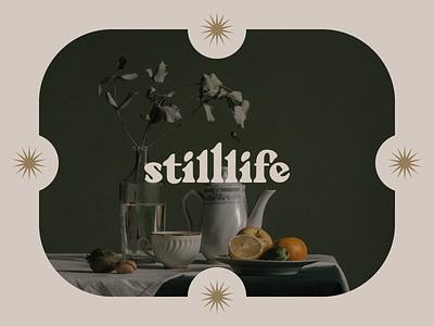 Still life typefacedesign wordmark process typographyinspired typography fontdesign typedesign mood design creative colours graphicdesign adobe photoshop adobe illustrator