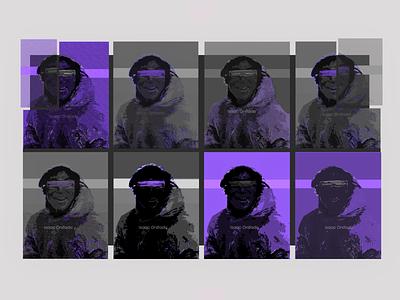 Purple & Texture graphic design design illustration art