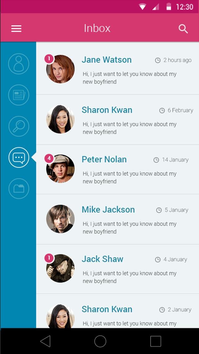 Dating messenger big
