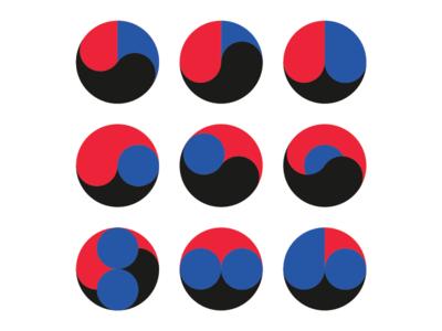 Korean flag variations