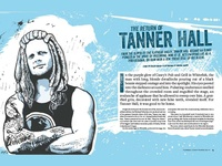 Tanner Hall Illustration