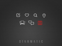 Starmatic icon set