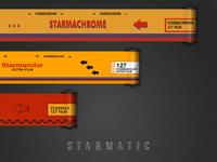 Film rolls design for Starmatic