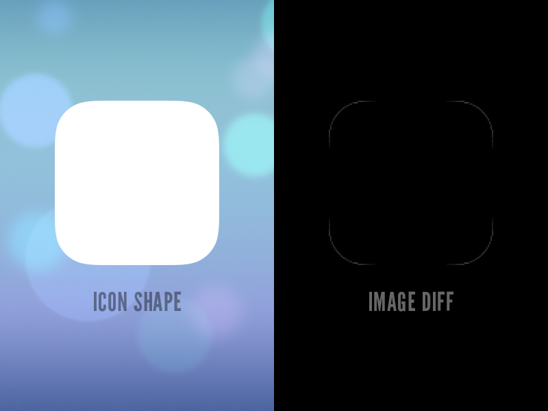 ios 7 icon shape psd by marc edwards bjango dribbble dribbble
