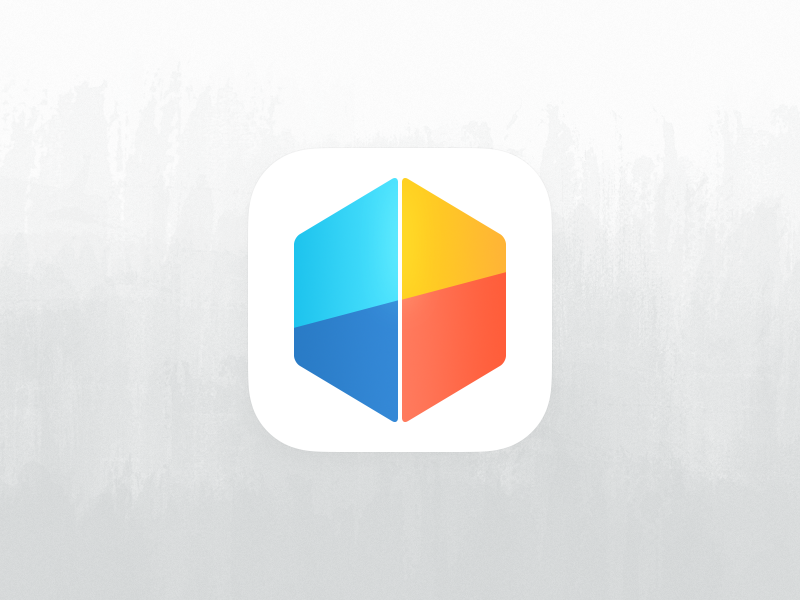 Perspective for iOS icon icon ipad ios ios 7 pixxa perspective cube