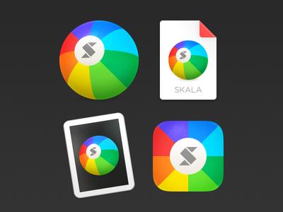 The Skala icon family skala icon app ios iphone mac os x