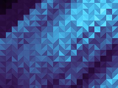 Trio Electric and Aqua wallpaper retina triangles wallpaper ios ipad iphone