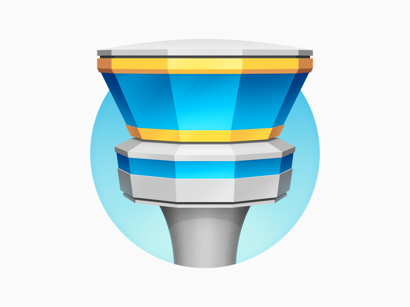 Tower replacement icon git control airplane mac icon tower app