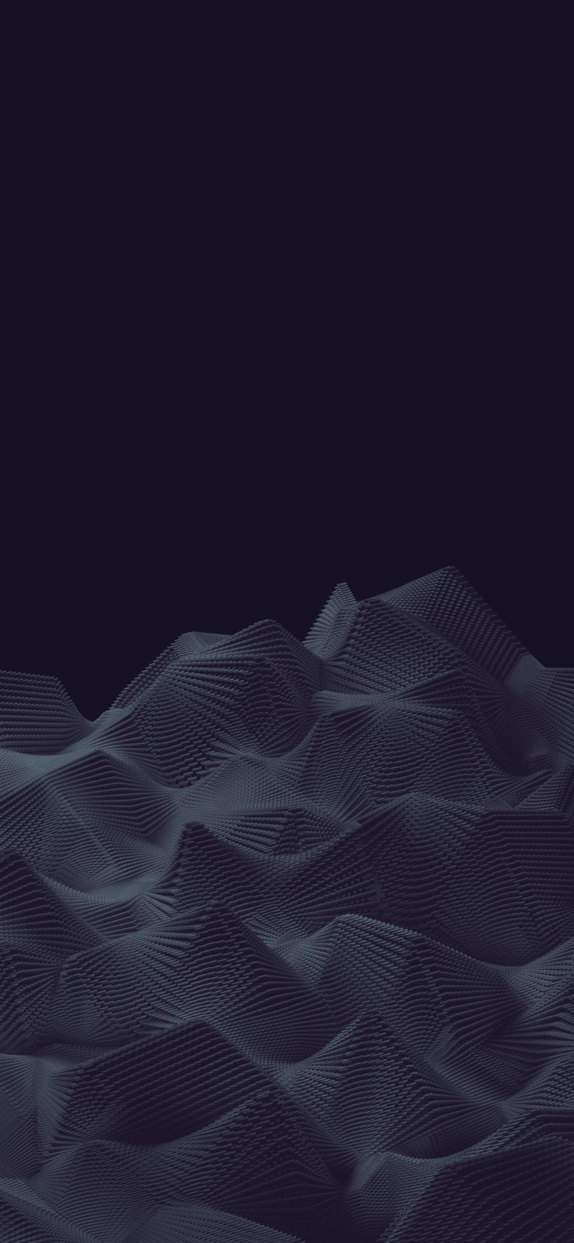 Mountains dark