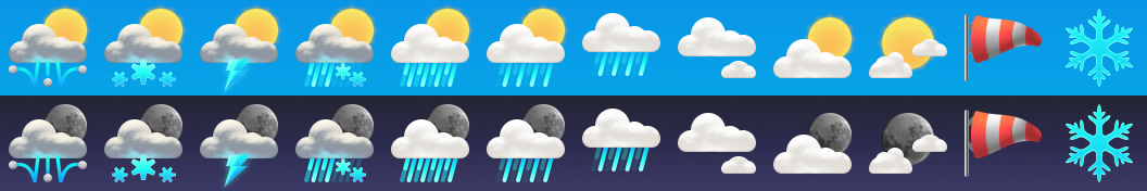 Some weather icons