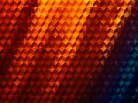 iPhone 5 wallpaper: Cube Hot, Electric and Aqua