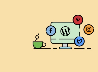 how to add social media icons on wordpress