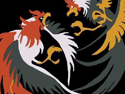 Pelea de Gallos T-shirt Design minimal vector beer flat identity print design screen print mexican art typography