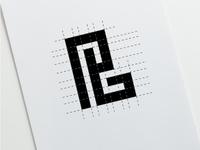 P+G Monogram Gridding