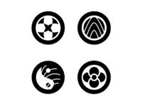 Sushi Zen Logo Concepts