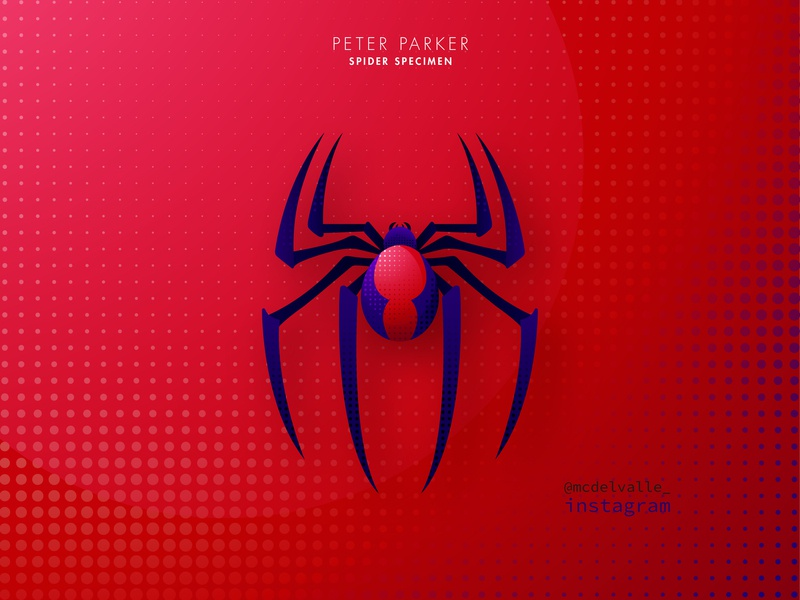 3/3 Spider Specimen: Peter Parker vector spiderverse spiderman spider marvel logotype logo a day logo illustrator icon clean animal icon animal character animal abstract logo