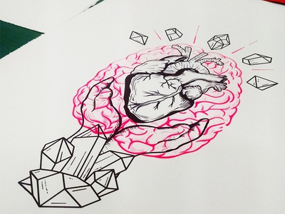 Irish Heart Foundation - illustration