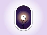 Bird & Moon