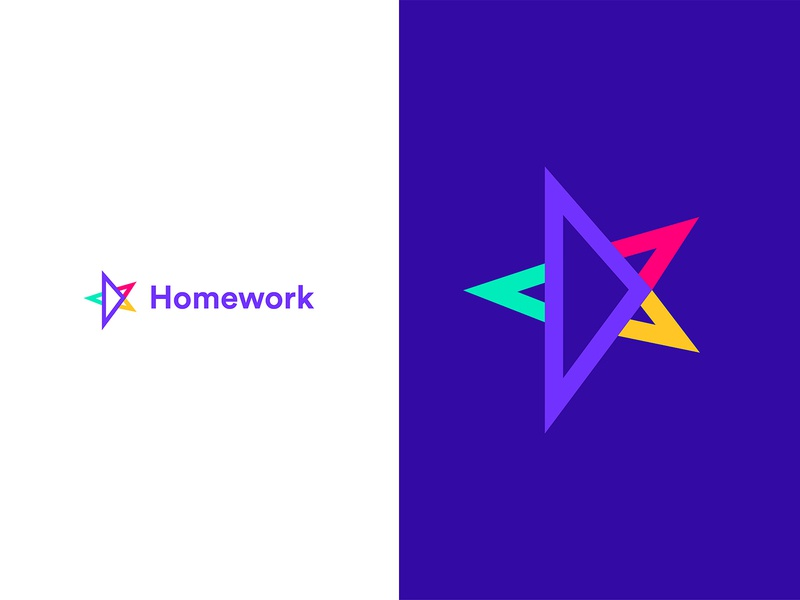 Homework logo design