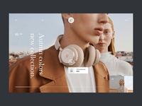 Headphones shot