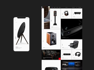 Techinterior Group minimal branding adobe xd web ui ux designs photoshop shot design