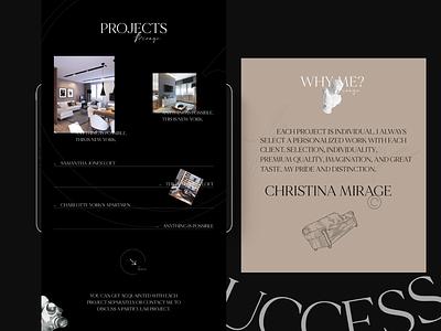 Mirage minimal afte effects branding adobe xd web ui ux designs shot design