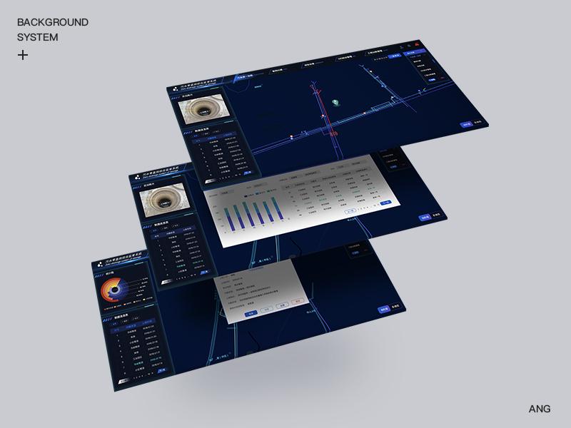 A set interface management information system list ui background design dashboard design original design gis ui