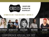Circles Flyer 2014