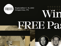 Free Pass To Circles Conference