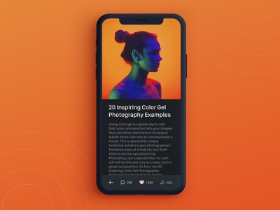 Reading App Concept design daily ui simple clean interface colorful app colorful newspaper newsletter ux education educational book app article page news app reading app reading news article