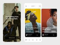 Fashion Store App UI Concept