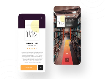 AR Directions for Library Books ar apps ar direction skeumorphic trend library app minimal vr app reading app book app ui google maps direction reading library vr booking book ar app ar app