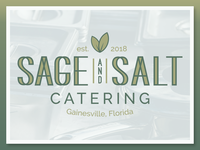 Sage and Salt Catering Logo Design