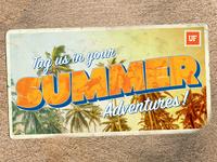Summer Adventures Postcard