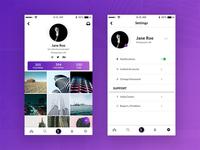 User Profile & Settings (Daily UI)