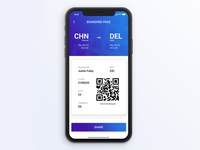 Boarding Pass - Daily UI