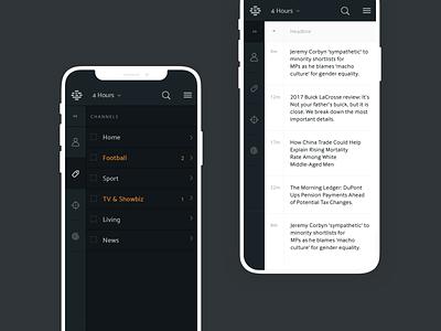 Publish Check App hours news project desktop study studio plan product design ux ui design app check publish