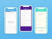 Quit Genius iOS app lean design ios development rapid prototyping ui design