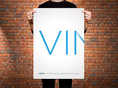 Anniversary Poster poster print epam